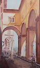 Florence Arcade by JennyArmitage