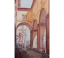 Florence Arcade Photographic Print