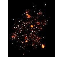 Firework 4 Photographic Print