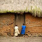 Girls Playing | Mweso, DRC by rubbish-art
