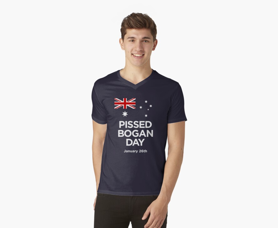 Pissed Bogan Day by Tunic
