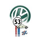 VW Herbie ipad case by ALIANATOR