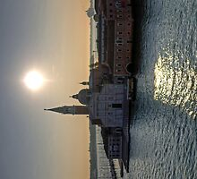 Venice morning - iPad Case by Tom Gomez