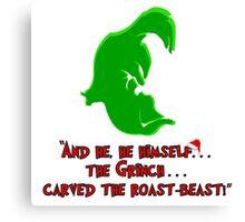 Dr Seuss: The Grinch Canvas Print