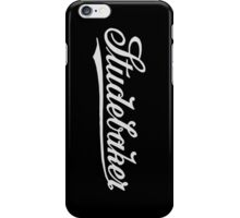 Retro light classic car Studebar 1917 logo iPhone Case/Skin