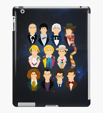 The Eleven Doctors | iPad Case iPad Case/Skin