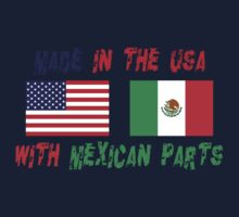 Made In America With Mexican Parts One Piece - Long Sleeve