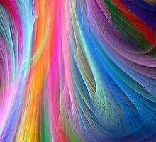 Wispy Rainbow by TinaGraphics