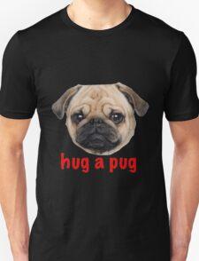 Pug hug Unisex T-Shirt