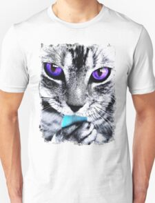 Purple eyes Cat T-Shirt