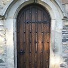 CHURCH DOOR by Lynn Wright