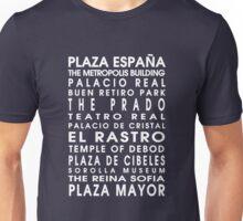 Madrid City Roll Unisex T-Shirt