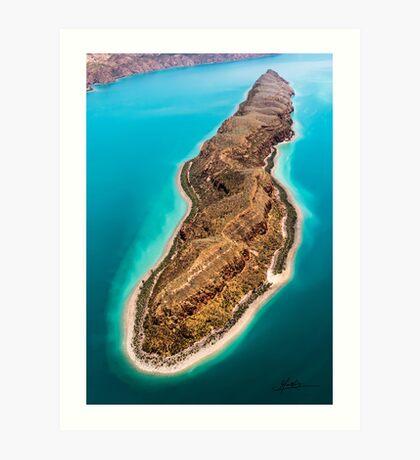 """""""Slug Island"""" Art Print"""