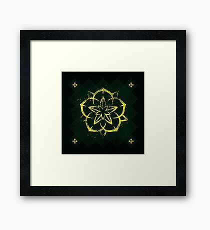 House Tyrell - Game of Thrones Framed Print