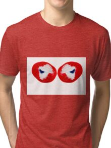 Butterfly Wings Abstract Tri-blend T-Shirt