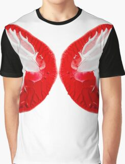 Butterfly Wings Abstract Graphic T-Shirt