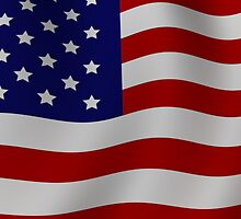 United States Flag by TinaGraphics