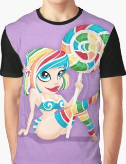 Sweet <3's - Miss Candy Graphic T-Shirt