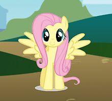 FlutterShy by DerpyDash101