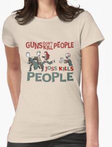 Joss Kills Womens Fitted T-Shirt