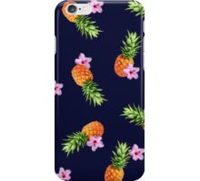 Pineapples and Flowers iPhone Case/Skin