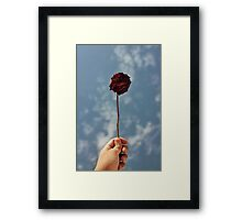 Dead but Pretty Framed Print
