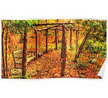 Autumn Arbor Poster