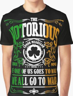 Conor Mcgregor - Go To War Graphic T-Shirt