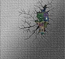 Broken & Cracked Back by TinaGraphics