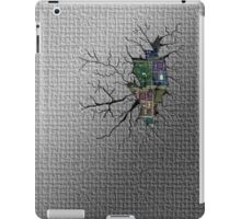 Broken & Cracked Back iPad Case/Skin
