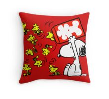 snoopy Throw Pillow