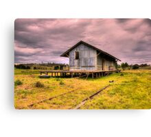 Goods Shed  Nimmitabel Rail Station Rural NSW Canvas Print
