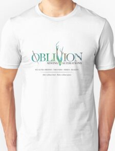 Oblivion Sewing & Alterations Unisex T-Shirt
