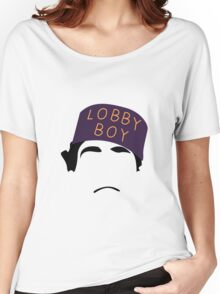 The Grand Budapest Hotel is Lobby Boy Women's Relaxed Fit T-Shirt