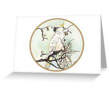 Cockatoo, Birds of Hepburn, 2012 Greeting Card