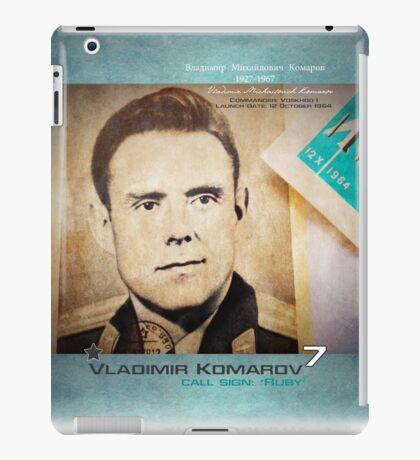 The Red★Stuff: Komarov | iPad case iPad Case/Skin
