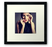 Watching you... Framed Print