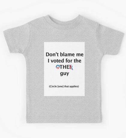 Post-Election Shirt Kids Tee