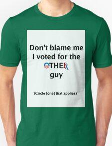 Post-Election Shirt Unisex T-Shirt
