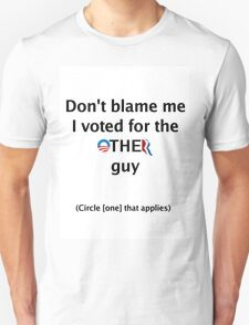 Post-Election Shirt T-Shirt