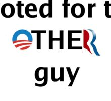Post-Election Shirt Sticker