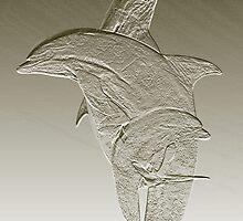 Dolphin Pose by Rob Atkinson