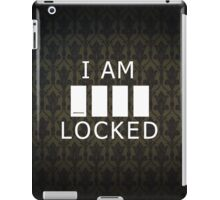 Sherlocked (empty variant) iPad Case/Skin
