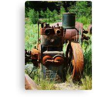 Rusty Equipment - Custer, Idaho Canvas Print