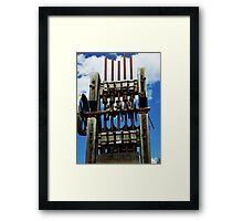 Old Equipment - Custer, Idaho Framed Print