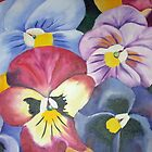 pansies by Gerda  Smit