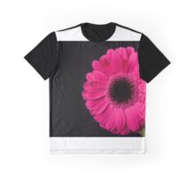 Pink Gerbera Graphic T-Shirt