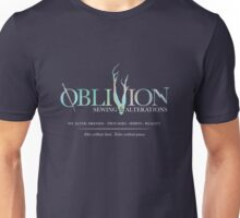 Oblivion Sewing & Alterations - Dark Theme Unisex T-Shirt