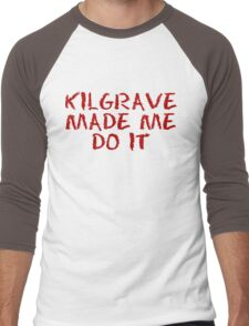 kilgrave made me do it Men's Baseball ¾ T-Shirt