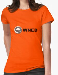 Obama owned - obama owns, obamowned Womens Fitted T-Shirt